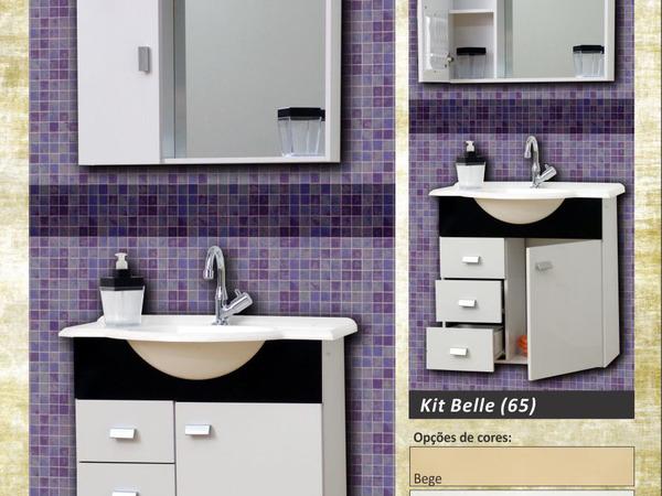 Banheiros - Kit Belle